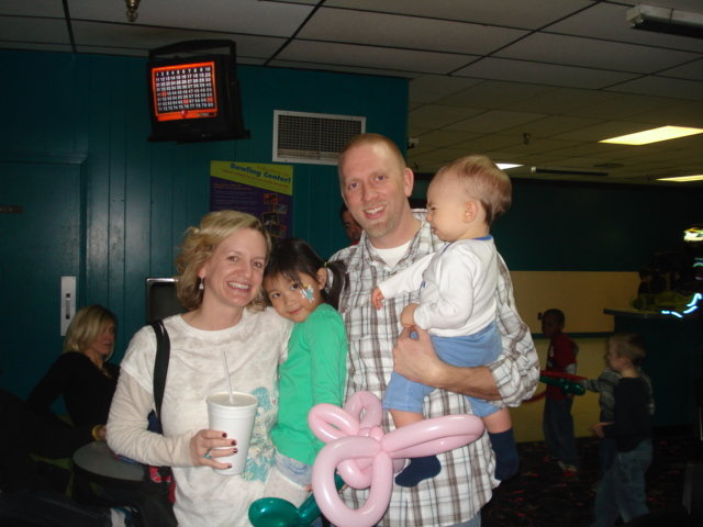 Doctor Family Bowling Fundraiser