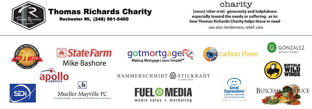 Thomas Richards Charity – Rochester Michigan