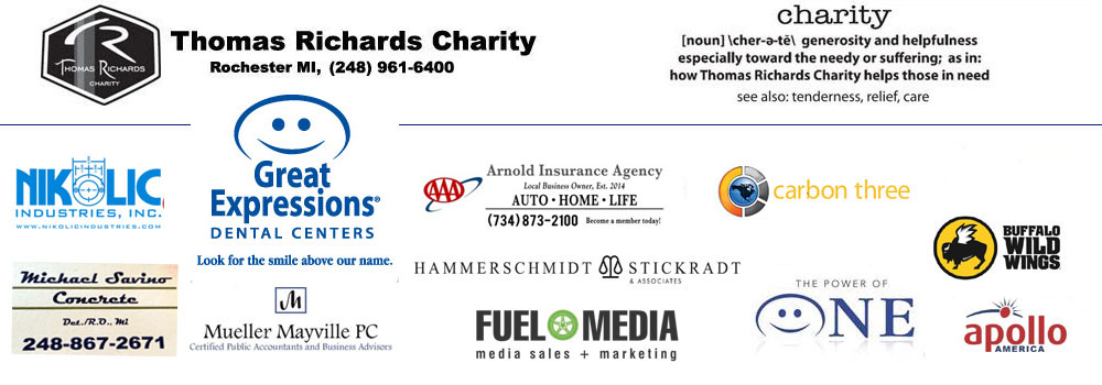 Thomas Richards Charity – Rochester Michigan