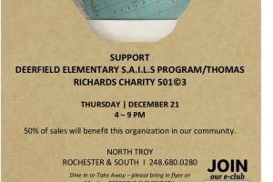 Noodles & Company Thursday December 7, 4-9pm